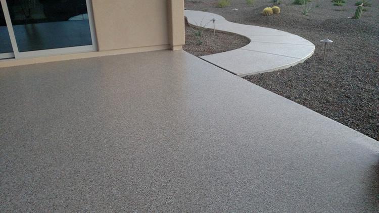 Phoenix Arizona Patio Floor Coating Pool Deck Coating Concrete